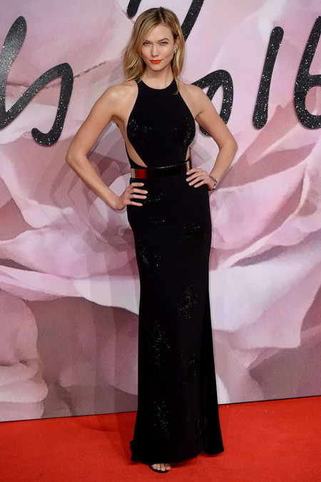 British Fashion Awards 2016 Karlie Kloss
