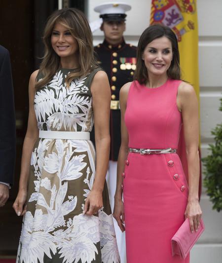 Dona Letizia Y Melania Trump 2