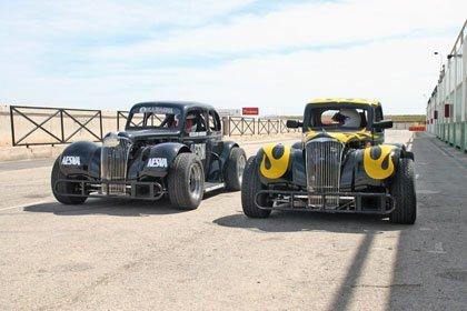 Legends Cars, carreras a escala 5:8