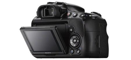 Sony SLT-A58 Detalle Pantalla