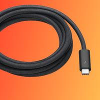 Apple pone a la venta un nuevo cable Thunderbolt 3 Pro de dos metros por... 149 euros