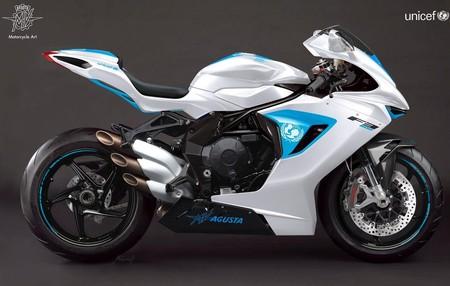 MV Agusta ha recaudado 100.000 euros para UNICEF con una sola moto
