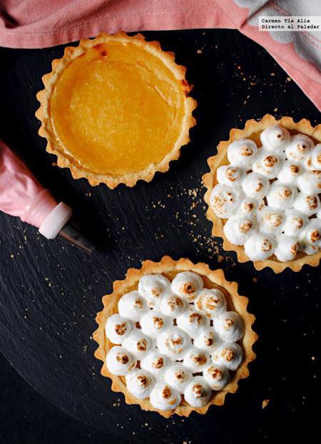 Tartaletas de limón y merengue: receta sin gluten