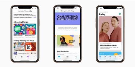 Contenido desarrollado por mujeres en App Store, Apple TV app y Apple Podcasts