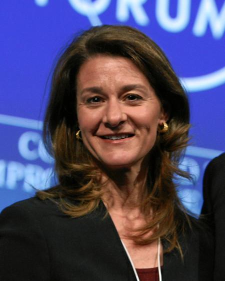 818px Melinda Gates World Economic Forum Annual Meeting 2011