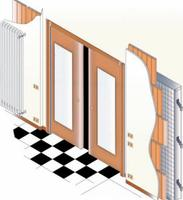 Cómo colocar interruptores en las puertas correderas: tres soluciones