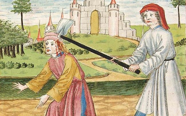 32 fantasiosos dibujos medievales de la Biblioteca Palatina, la madre de todas las librerías europeas