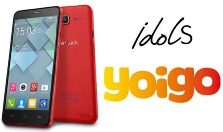 Precios Alcatel One Touch Idol S con Yoigo
