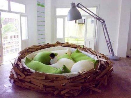 Una cama nido, en el sentido estricto de la palabra