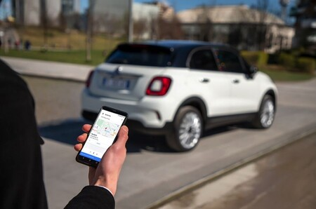 Fiat 500 Asistente Google