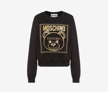 Sudadera De Algodon Gold Teddy Label