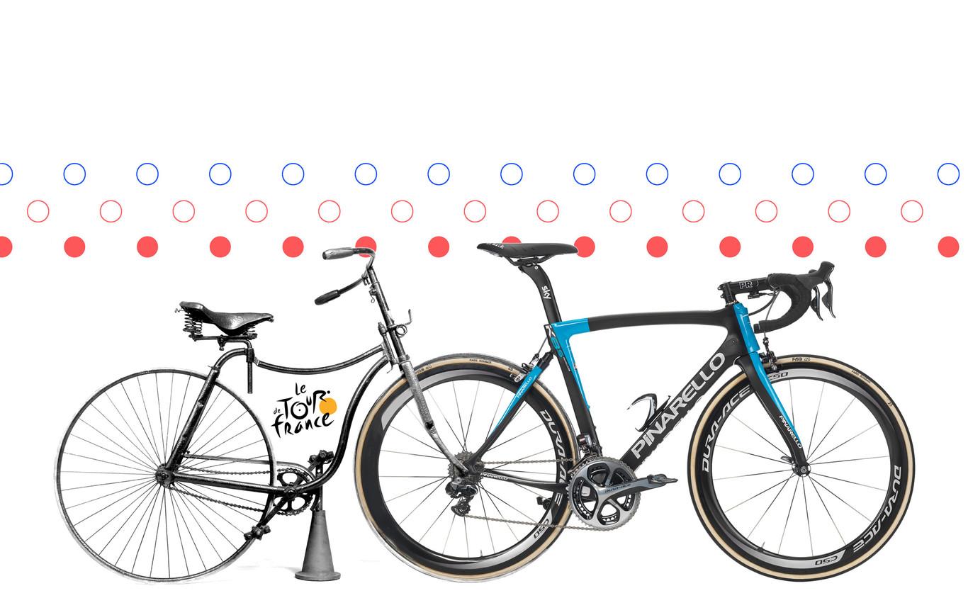 Cómo han cambiado las bicis del Tour de Francia en los últimos 100 años