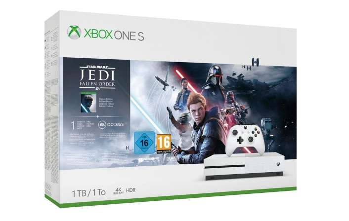 Xbox One 1TB con Star Wars Jedi Fallen Order