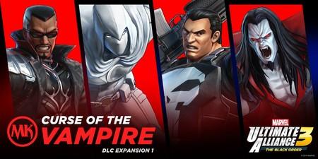 El DLC de Marvel Ultimate Alliance 3 dedicado a Marvel Knights llegará en septiembre con Blade, El Castigador y más superhéroes