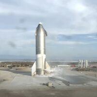 Starship de SpaceX aterriza con éxito por primera vez... para explotar minutos después