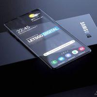 Samsung patenta un teléfono con pantalla transparente