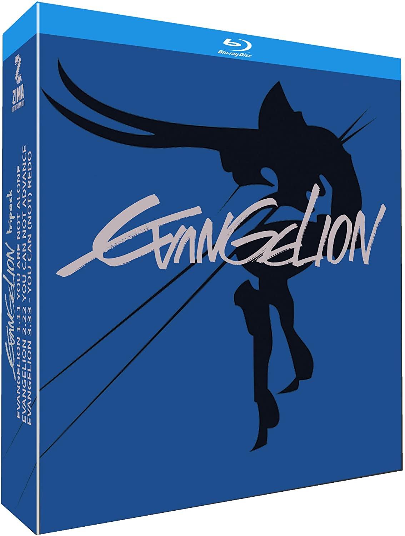Evangelion (1.11 + 2.22 + 3.33) en Blu-Ray