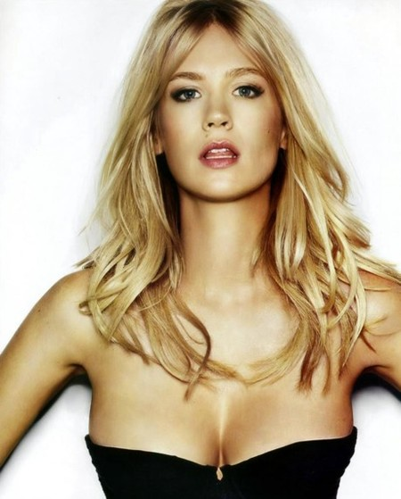 January Jones, una guapísima actriz a quien seguirle la pista