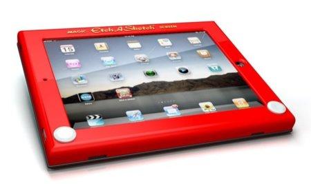 Funda TeleSketch, un toque vintage para tu iPad