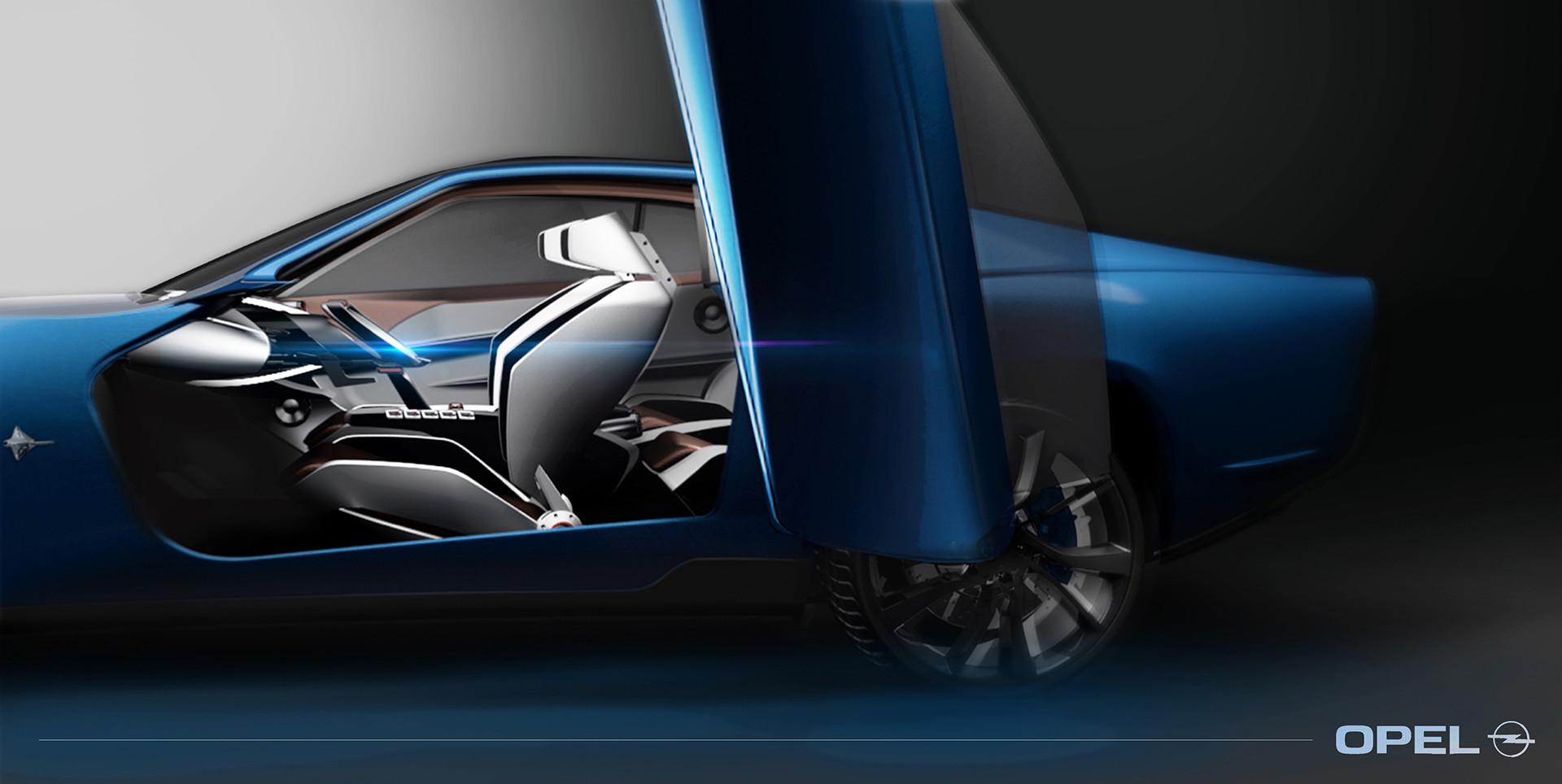 Foto de Opel Manta Concept - Behance (5/8)