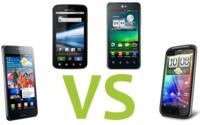 Comparamos los principales móviles Android con procesador doble núcleo