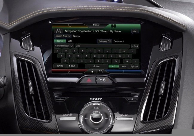 Sync MyFord Touch