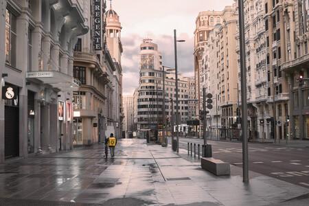 La polémica foto de la Gran Vía de Ignacio Pereira va a ser pionera al subastarse en formato NFT