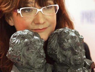 La realizadora publicitaria y directora de cine Isabel Coixet, Premio Mujer Europea 2006
