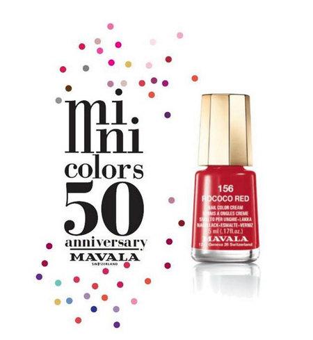 Esmaltes Mini Colors de Mavala, ¡feliz 50º aniversario!