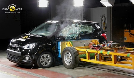 Hyundai i10 EuroNCAP
