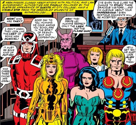Eternals Original Run
