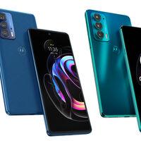 Motorola Edge 20 y 20 Pro: un acercamiento a la gama más alta con pantallas de 144 Hz y cámaras de 108 MP