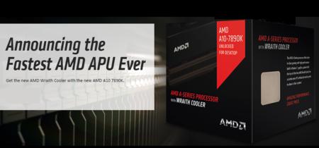 AMD hace oficial el APU A10 'Godavari' más rápido, incluye el disipador Wraith