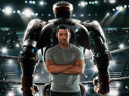 'Acero puro', robots dándose de hostias
