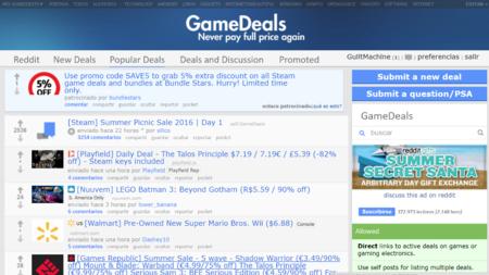 Reddit Gamedeals