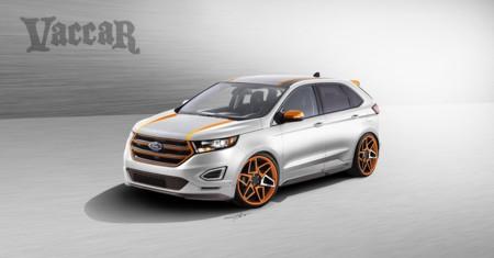 Ford servirá un banquete de Edge modificados en el SEMA Show