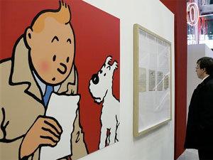 Exposición sobre Tintín en París