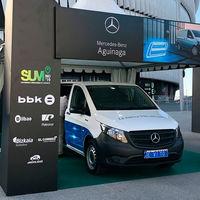 La furgoneta eléctrica Mercedes-Benz eVito, con una autonomía de hasta 150 km, llegará a España en verano