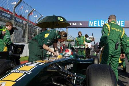 Team Lotus ha firmado un contrato con Williams para poder usar su túnel de viento