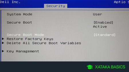 Qué es el Secure Boot de la UEFI y cómo puedes desactivarlo
