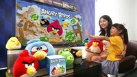 Angry Birds llega con reconocimiento de gestos a los televisores Samsung