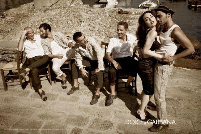 Preview de la campaña de Dolce & Gabbana Primavera 2012
