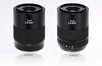 Zeiss anuncia un nuevo objetivo 50mm para monturas Sony E y Fujifilm X