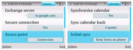 Google Sync disponible para Symbian S60