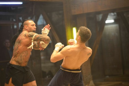 Escena Dabe Bautista Kickboxer Vengeance