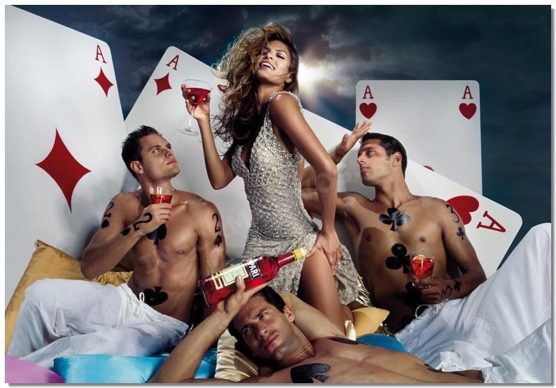 Foto de Eva Mendes para el Calendario Campari 2008 (1/13)