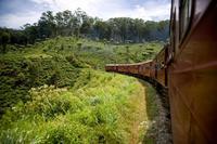 La experiencia de viajar en tren por las Tierras Altas de Sri Lanka