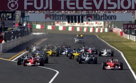 Salida GP Japón 2002