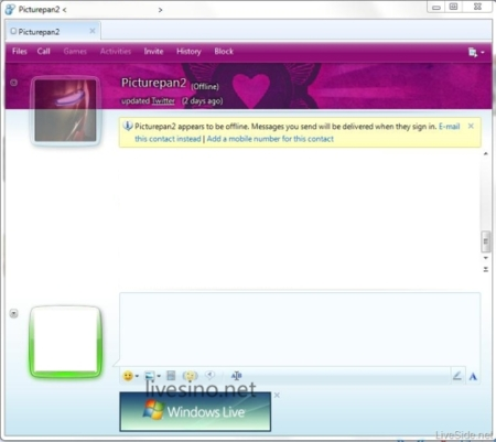 Nuevas capturas de Windows Live Messenger 2010 (Wave 4)
