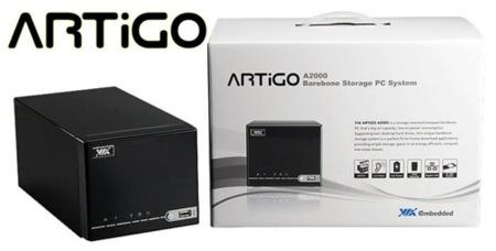 Artigo A2000, barebone para almacenamiento